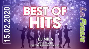 Best Of Hits - DJ Míla (Captain Morgan & Cola 85,-)