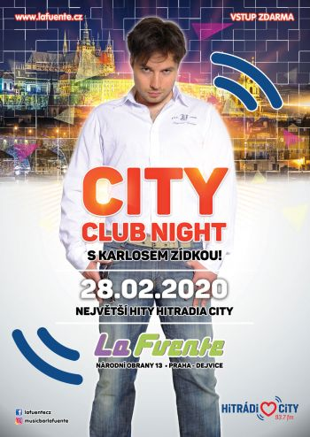 City Club Night & Karel Zídka
