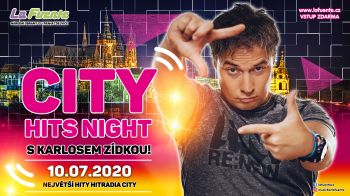 CITY HITS Night s Karlosem Zídkou