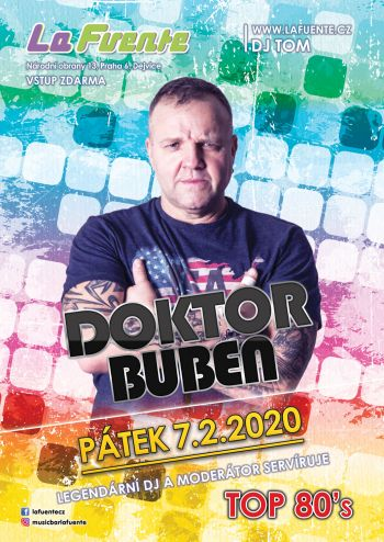 Doktor Buben & Top 80's - DJ Tom